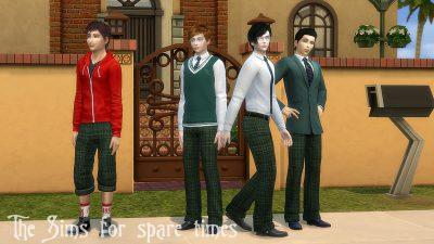 teen boys uniform