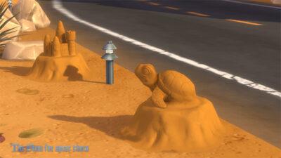 砂の亀さん