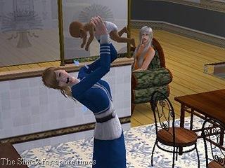 Sims2  Vomiting Baby