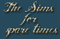 The Sims for spear times_logo
